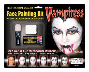 Vampiress Makeup Kit Wolfe Bro