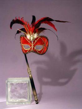 Venetian Mask Red
