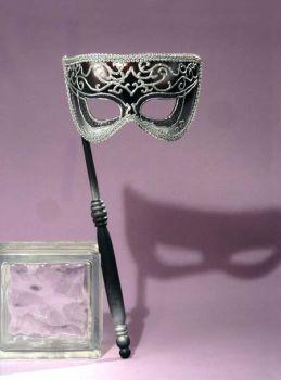 Venetian Mask Silver