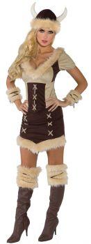 Women's Viking Queen Costume - Adult Large