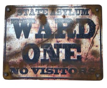Ward One Sign