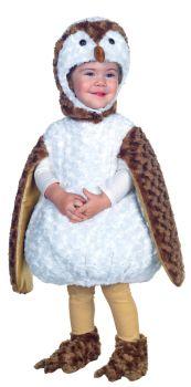 White Barn Owl Toddler 2t-4t