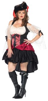 Women's Plus Size Wicked Wench Costume - Adult 1X/2X