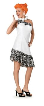 Women's Deluxe Wilma Costume - The Flintstones - Adult Medium