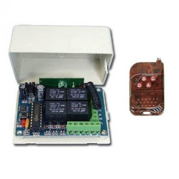 Wireless Trigger (4-Relay)