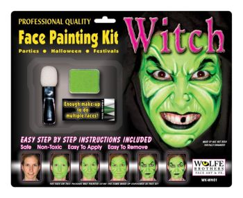Witch Makeup Kit Wolfe Bros