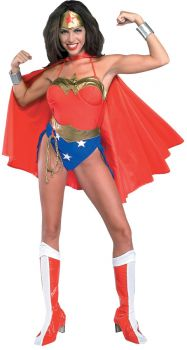 Women's Classic Wonder Woman Costume - Adult Large