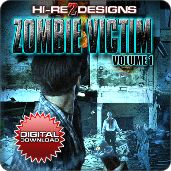 Zombie Victim: Volume 1 - Digital Download