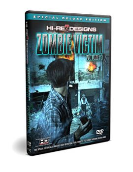 Zombie Victim: Volume 1 DVD + HD