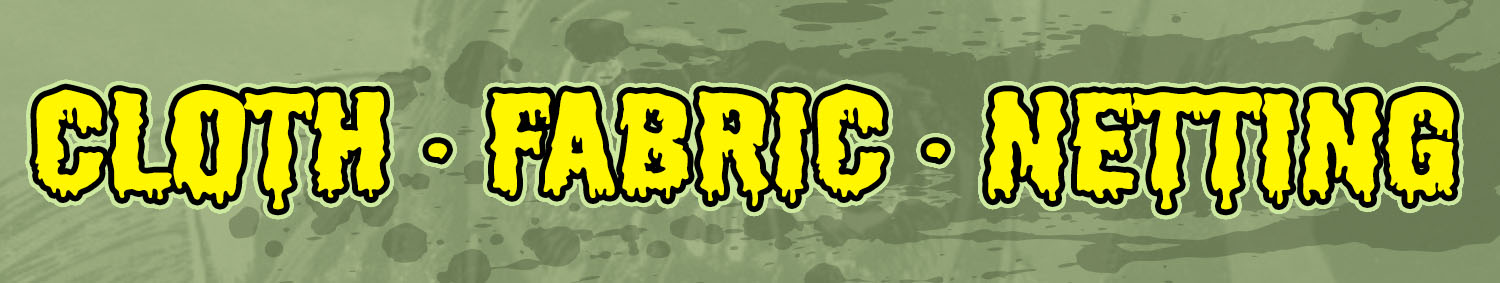 Camo Netting, Cloth, Fabric for Haunted Houses