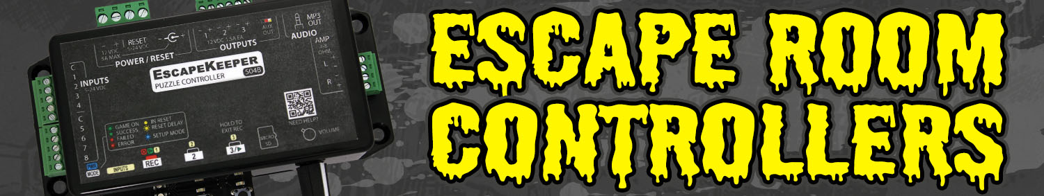 Escape Room Controllers