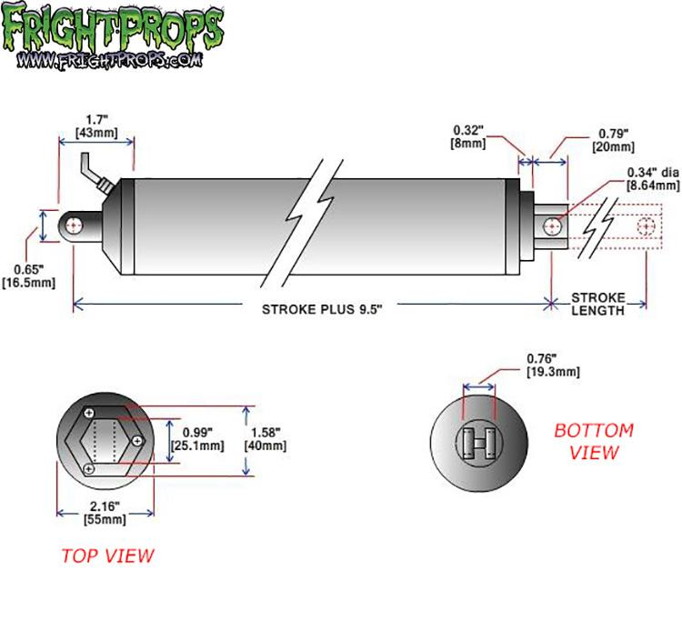 Linear Actuator Dimensions