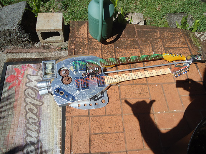 Door Warrior Guitar for Halloween '15